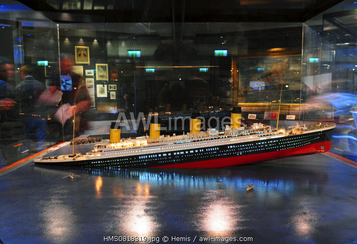 United Kingdom, Northern Ireland, Belfast, Celebration of the centenary of Titanic in 2012, Titanic Exibition 2012 at Transport Museum of Holywood
