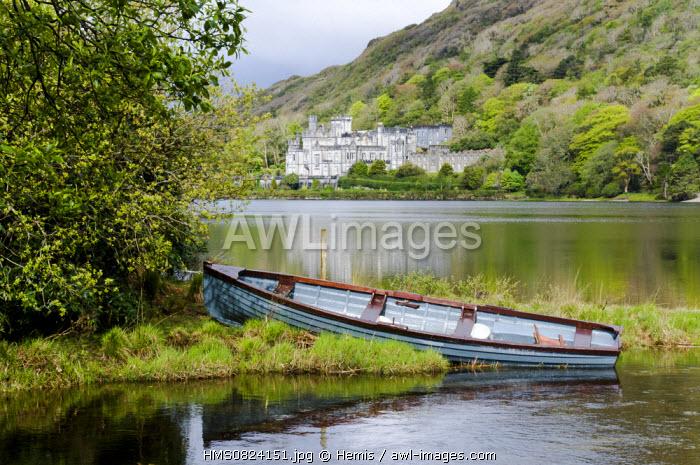 Republic of Ireland, Connacht Province, County Mayo, Westport Abbey around Westport city
