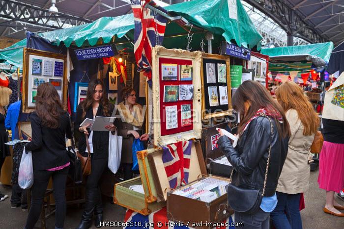 United Kingdom, London, East End District, Old Spitalfields Market