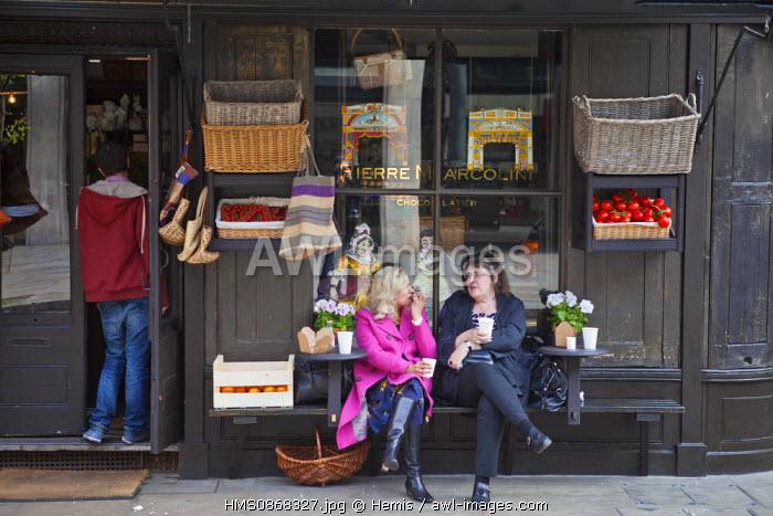 United Kingdom, London, East End district, Fournier Street