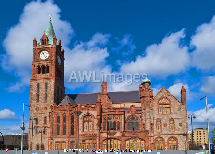 United Kingdom, Northern Ireland (Ulster), Derry county, Derry or Londonderry, The Corporation Palace