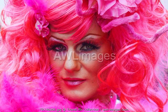 England, London, The Annual Gay Pride Parade, Participant