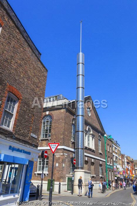 England, London, Tower Hamlets, Brick Lane, Brick Lane Mosque