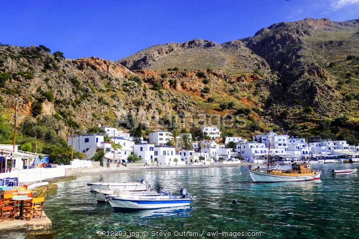 Loutro, South Crete, Greece