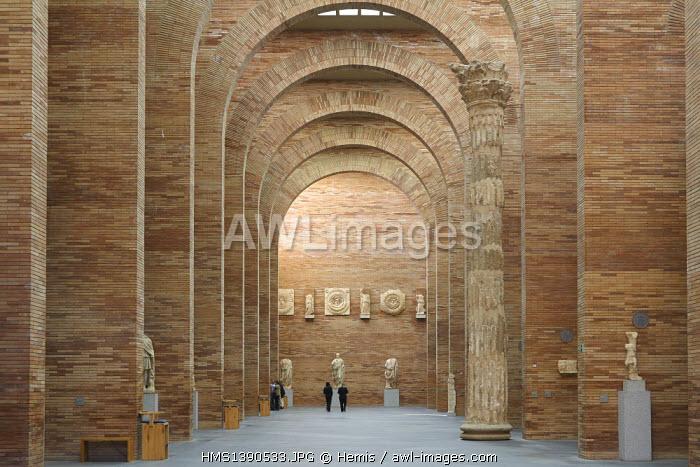 Spain, Extremadura, Merida, National Museum of Roman Art