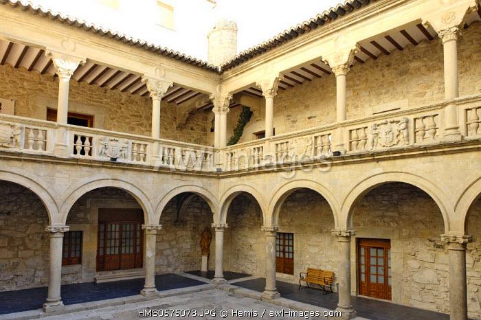 Spain, Extremadura, Trujillo, Juan Pizarro de Orellana palace