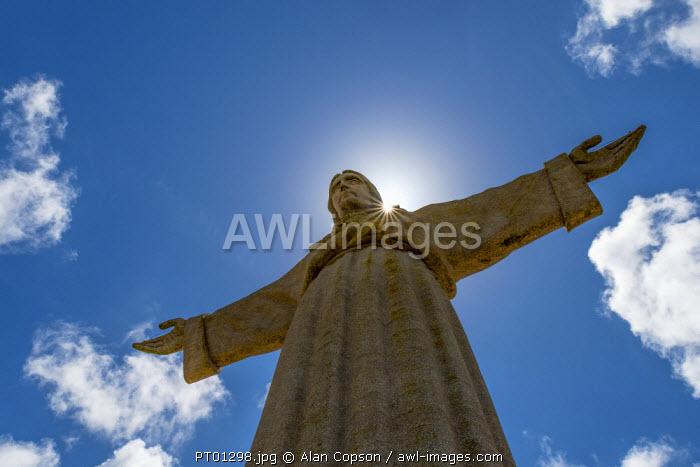 Portugal, Lisbon, Setubal, Cristo Rei or Christ the King statue