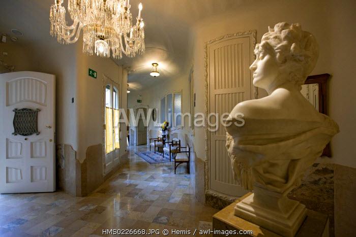 Spain, Catalunya, Barcelona, La Pedrera or Casa Mila by architect Antoni Gaudi listed as World Heritage by UNESCO