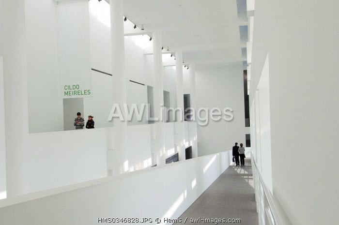Spain, Catalonia, Barcelona, Raval District, MACBA Museu d'Art Contemporani de Barcelona, Contemporary Art Museum of Barcelona