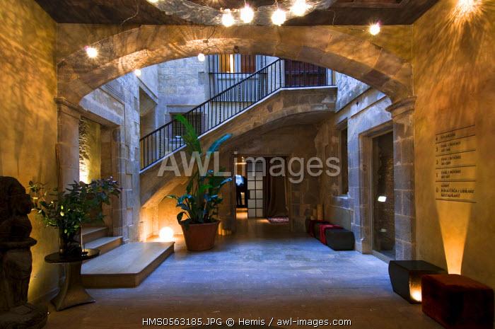 Spain, Catalonia, Barcelona, Raval, Hotel Neri