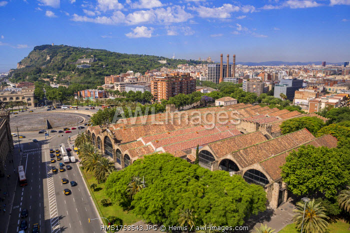 Spain, Catalonia, Barcelona, Port Vell, Maritime Museum and Drassanes