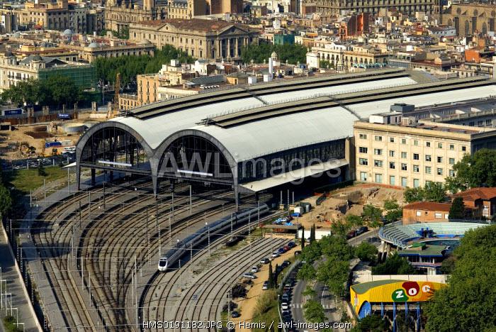 Spain, Catalonia, Barcelona, Estacion de Francia (France Station)