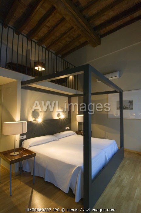Spain, Catalonia, Barcelona, Born district, Argenteria street, Hotel Banys Orientals