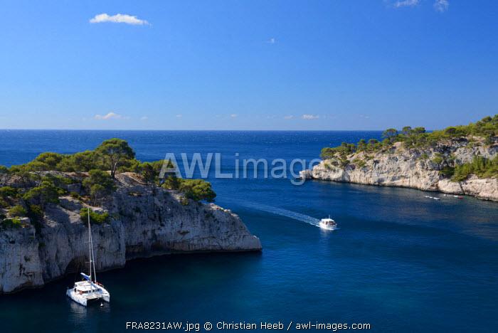 Cassis Coastline, Provence Alpes Cote d'Azur, Provence, France, Europe