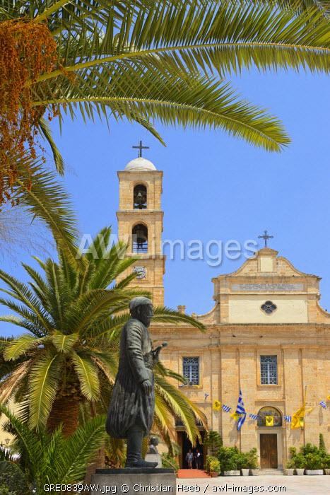 Cathedral Trimartiri, Chania, Crete, Greece, Europe