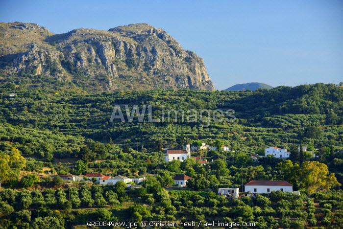Mountain Scenery, Crete, Greece, Europe