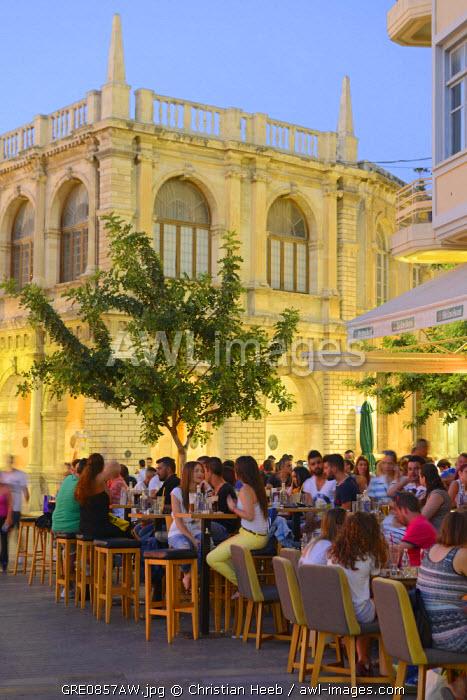 Town Hall, Heraklion, Crete, Greece, Europe