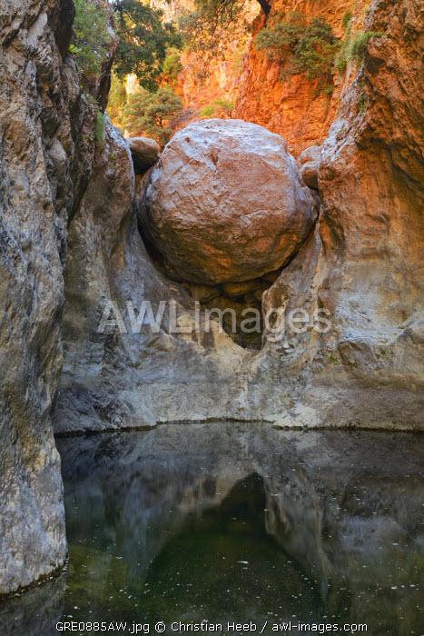 Havga Gorge, Lassithi Plateau, Crete, Greece, Europe