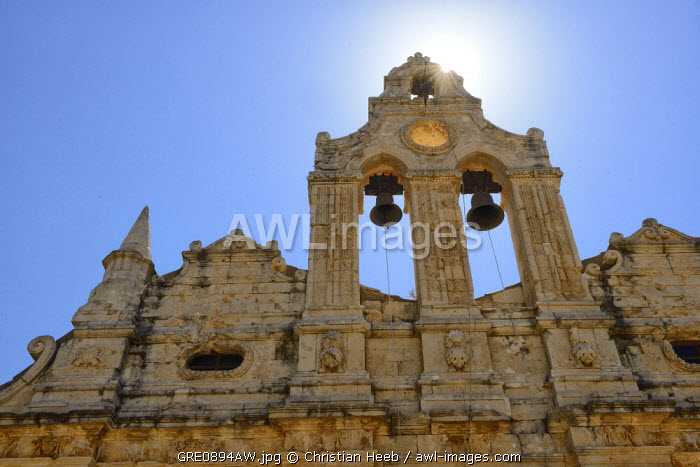 Monastery Arkadi, Crete, Greece, Europe