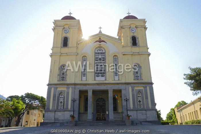 Church, Neapoli, Crete, Greece, Europe