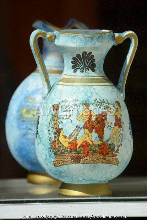 Pottery in Sitia, Crete, Greece, Europe