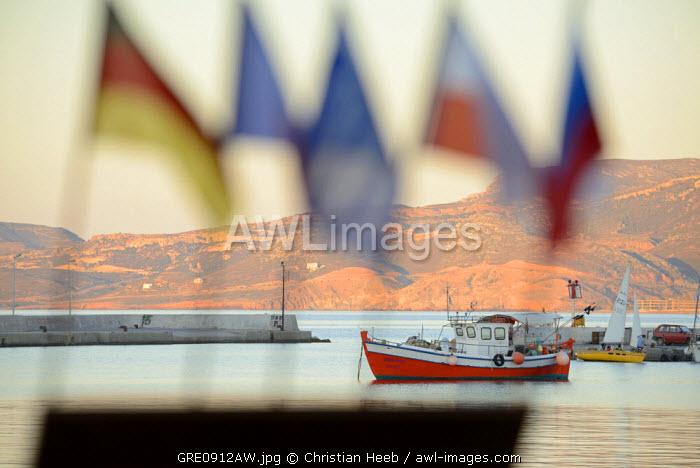 Harbour at Sitia, Crete, Greece, Europe