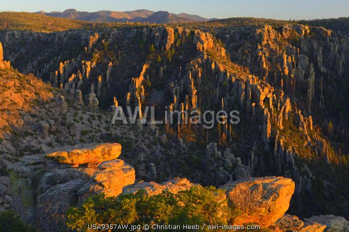 Massai Point, Chiricahua National Monument, Arizona, USA