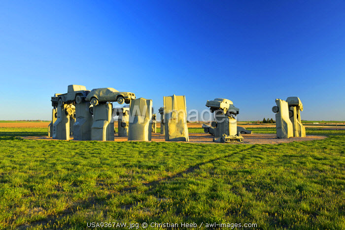 Carhenge, Alliance, Nebraska, USA