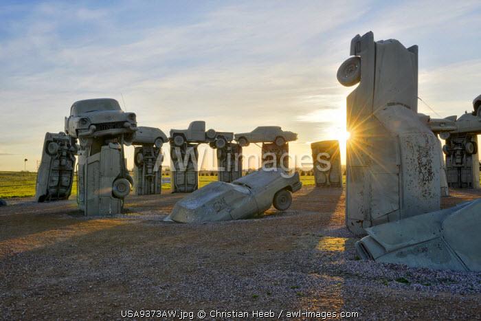 Carhenge, Alliance, Nebraska, USA