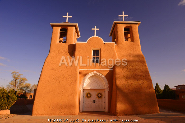 San Francisco De Asis Church, Rancho de Taos, New Mexico, USA