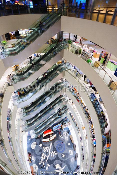 Asia, Republic of Korea, South Korea, Busan, Shinsegae department store
