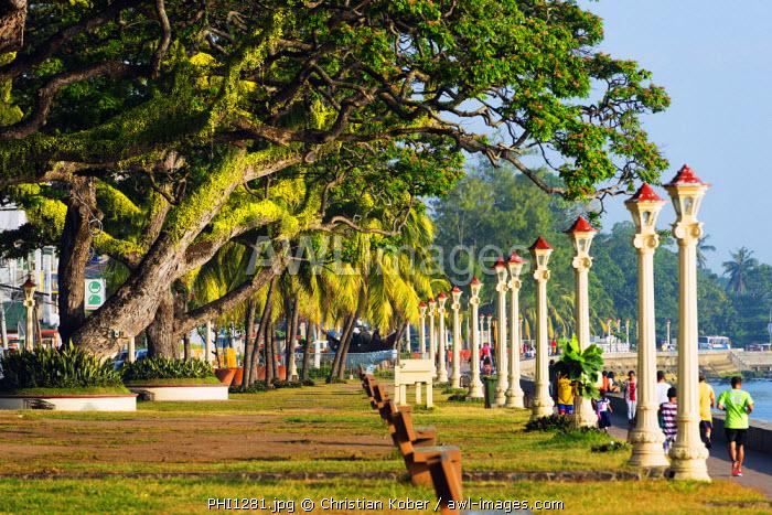South East Asia, Philippines, The Visayas, Negros, Dumaguete, promenade