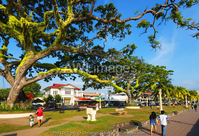 South East Asia, Philippines, The Visayas, Negros, Dumaguete, promenade