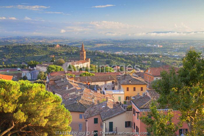 View of Church of Santa Giuliana, Perugia, Umbria, Italy