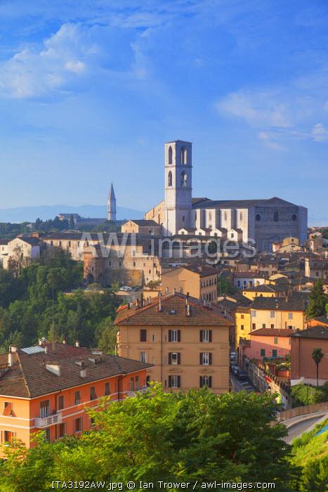 San Domenico Church, Perugia, Umbria, Italy