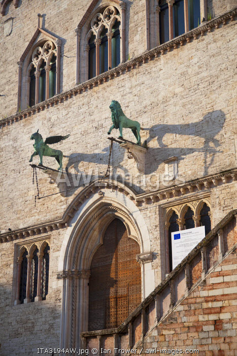 Palazzo dei Priori, Perugia, Umbria, Italy