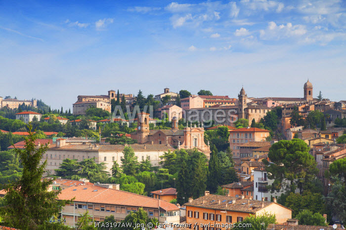 View of Perugia, Umbria, Italy