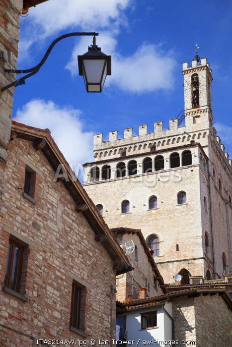 Palace of the Consuls, Gubbio, Umbria, Italy