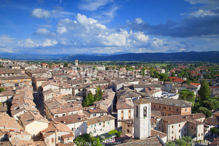 View of Gubbio, Umbria, Italy