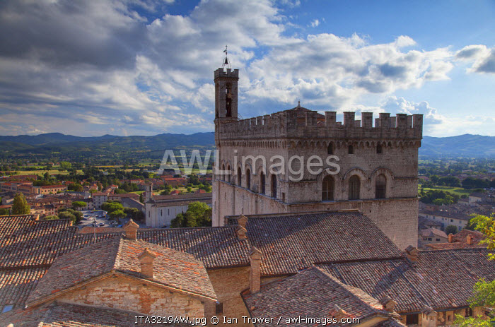 Palace of the Consuls, Gubbio, Umbria, Italy