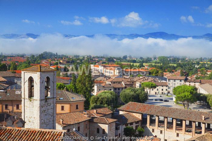 View of Gubbio, Umbria, Italy