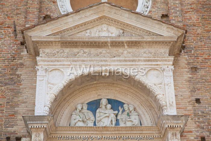 Church of St Dominic, Urbino (UNESCO World Heritage Site), Le Marche, Italy