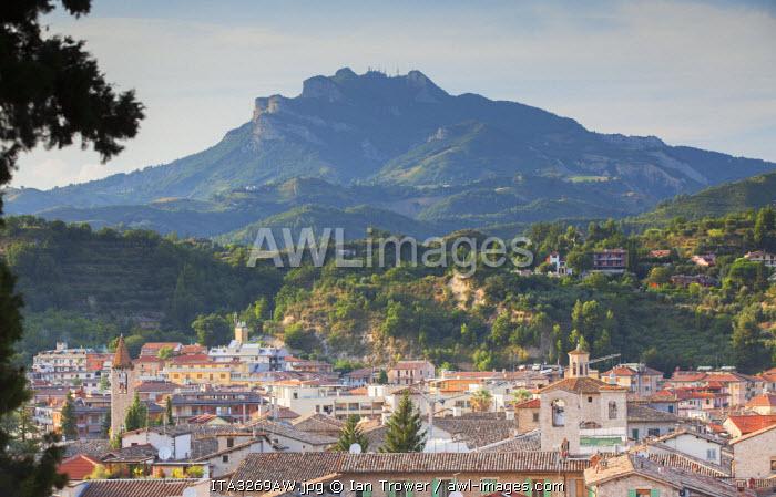 View of Ascoli Piceno, Le Marche, Italy