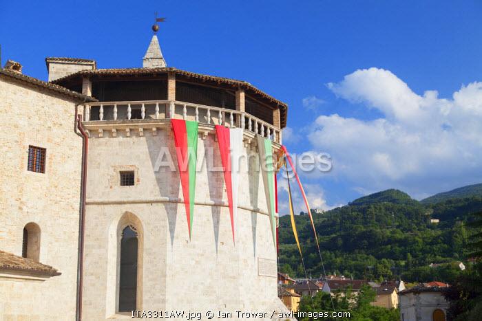 Malatesta Fort, Ascoli Piceno, Le Marche, Italy