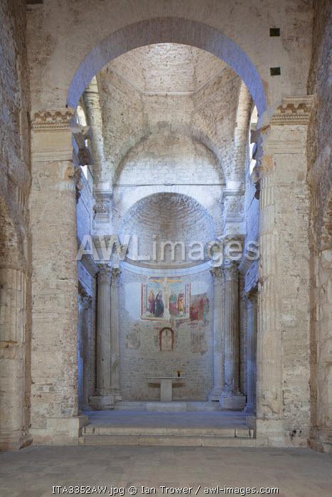 Basilica of San Salvatore (UNESCO World Heritage Site), Spoleto, Umbria, Italy