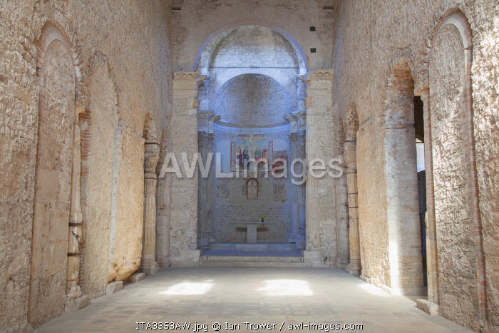 Basilica of San Salvatore (UNESCO World Heritage Site), Spoleto, Umbria, Italy
