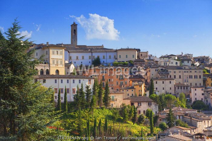 View of Spoleto, Umbria, Italy