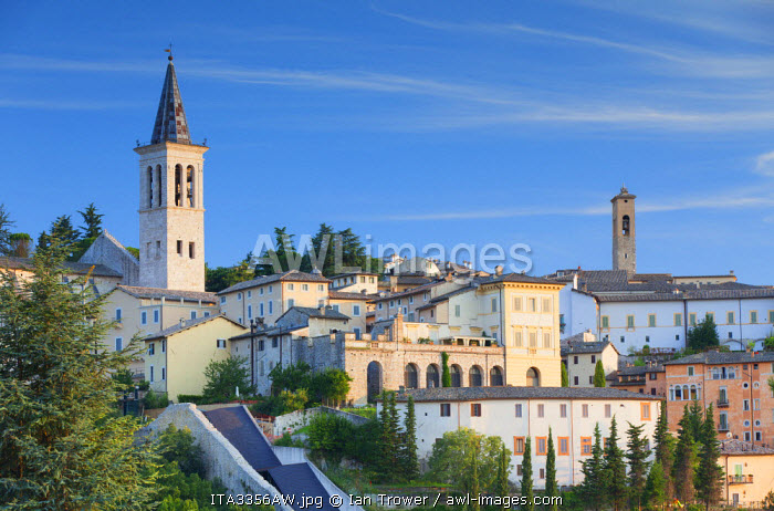 View of Spoleto, Umbria, Italy