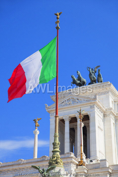National Monument to Victor Emmanuel II, Rome, Lazio, Italy