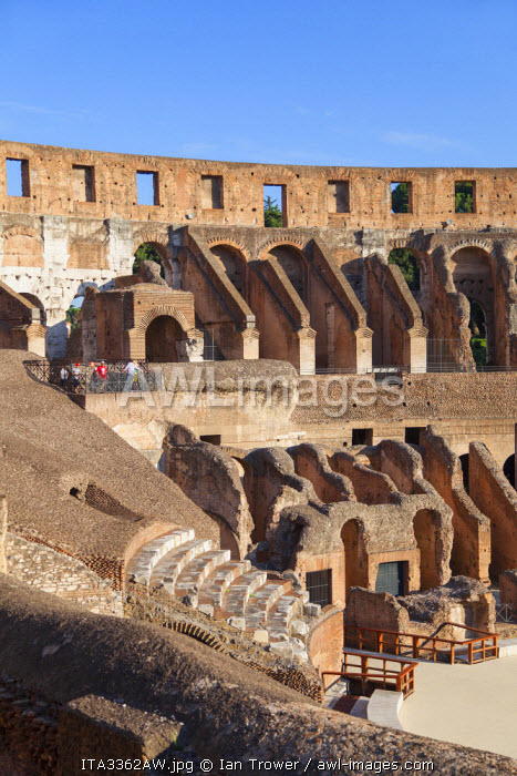 Colosseum (UNESCO World Heritage Site), Rome, Lazio, Italy